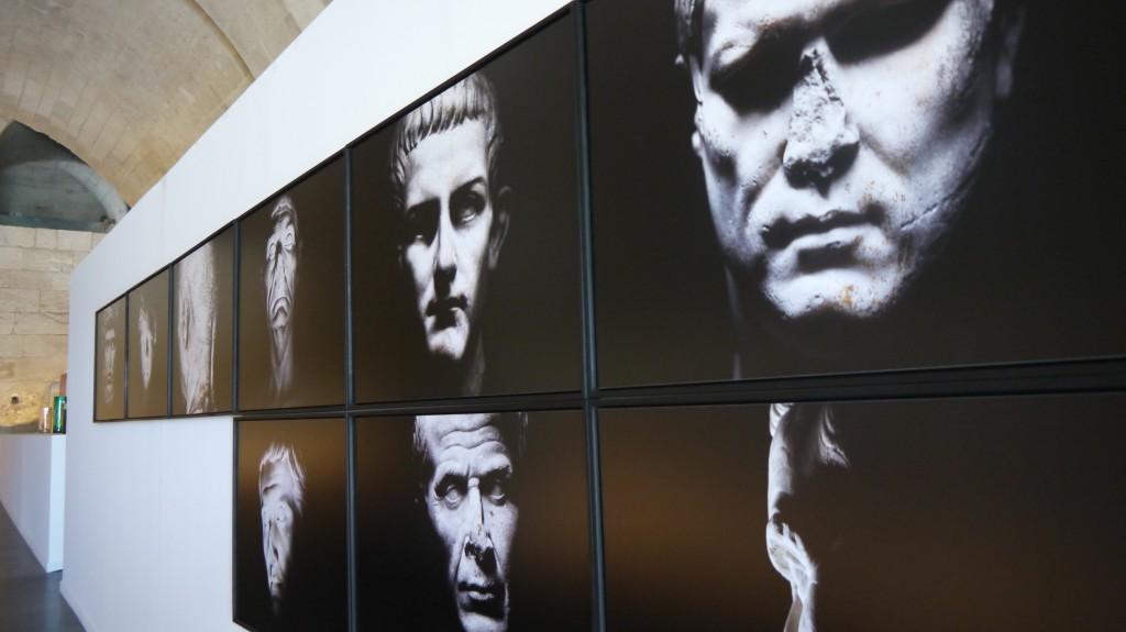 Olivier Roller, série les Figures du pouvoir  antique, 2009