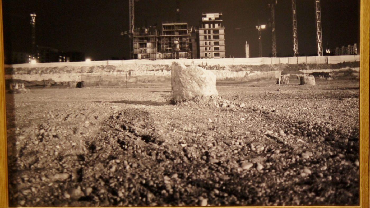 """Jacques Damez,  photos réalisées du chantier Confluences, dans le cadre de l'exposition au Musée Gadagne """"La rivière et le fleuve"""""""