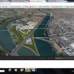Projet Confluence Lyon, Visualisation 3D sur le site Lyon Confluence