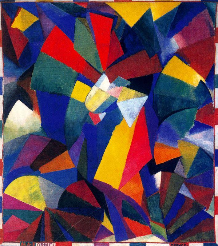 Morgan Russell, Syncromy in Orange, 1913-1914