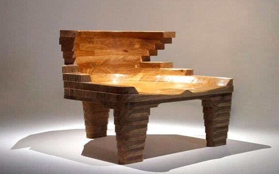 Kossi Aguessy, Fauteuil JORD, design pour RINCK