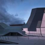 Nouveaux bâtiments du Fonds régional d'art contemporain de la région Centre à Orléans (45), Agence Jakob + MacFarlane, inauguration septembre 2013