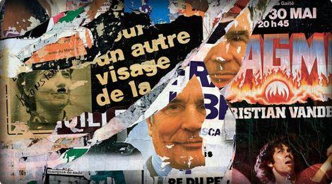 Jacques Villeglé, Les Présidentielles, 1981