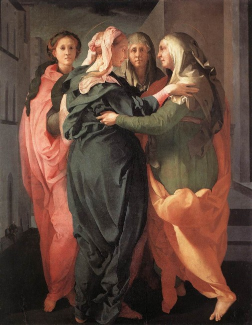 Jacopo Pontormo, La Visitation, 1528
