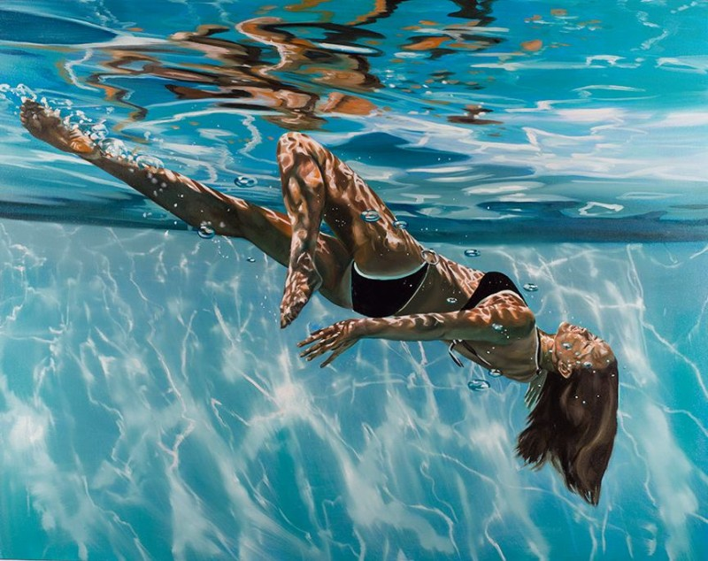 Eric Zener, Tumbling Through the Light, 2013