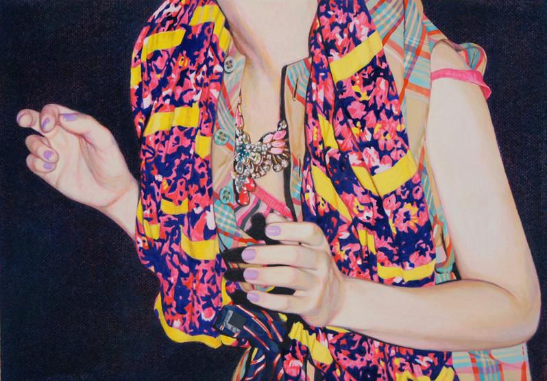 Naomi Okubo, the Ghost, 2013