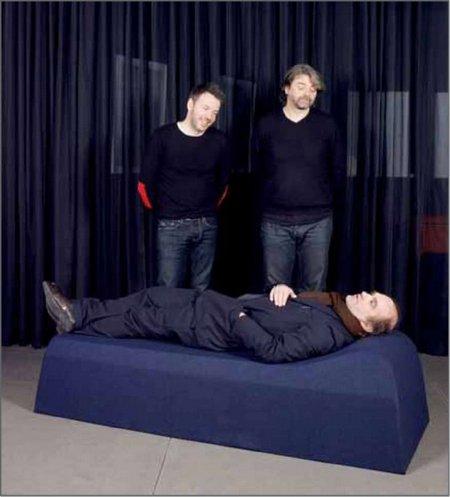 Eric Jourdain, Le lit de repos Edmond, galerie Domeau & Pérès