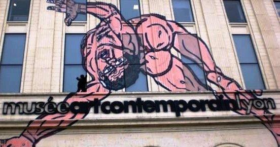 MAC Lyon, façade principale