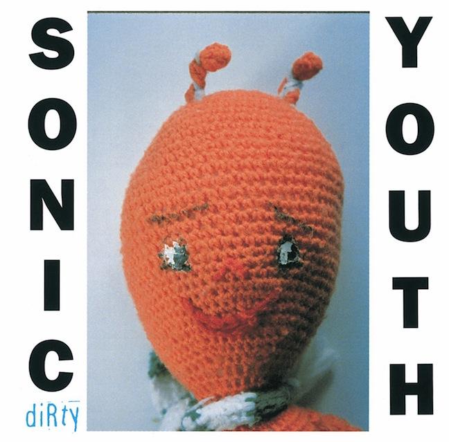 Mike Kelley, couverture de l'album Dirty, 1992