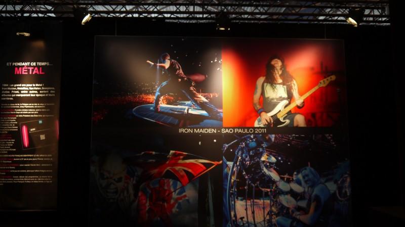 Foire de Lyon, Expo Rock Story, le début des années 80 : Iron Maiden ou le triomphe de la culture Heavy Métal