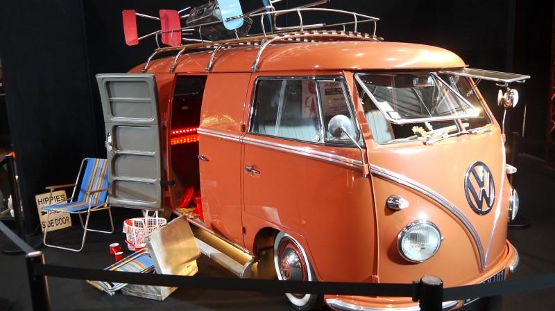 Foire de Lyon, Expo Rock Story, le combi VW, symbole de la génération hippie