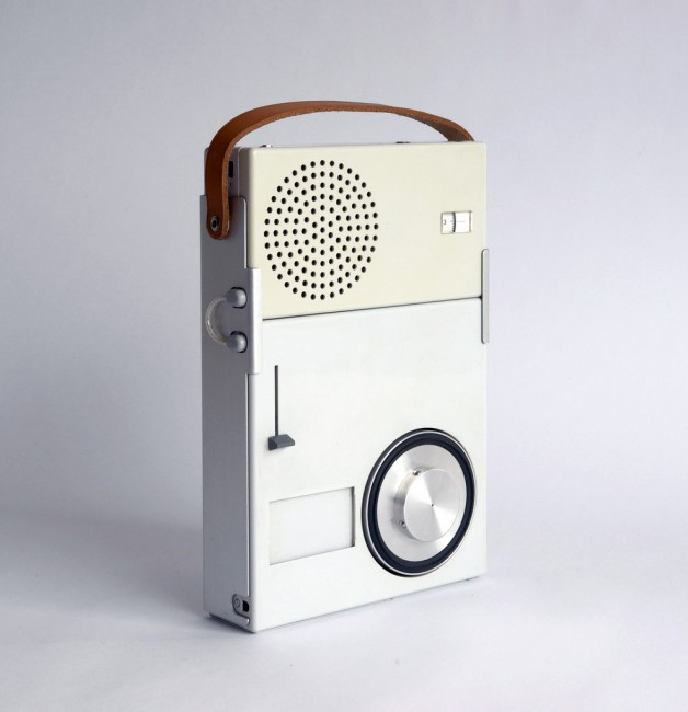Dieter Rams, first design for a walkman, end of 50s