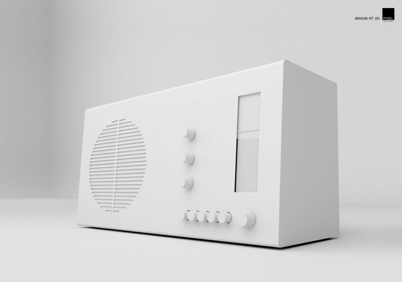 Dieter Rams, radio, Braun