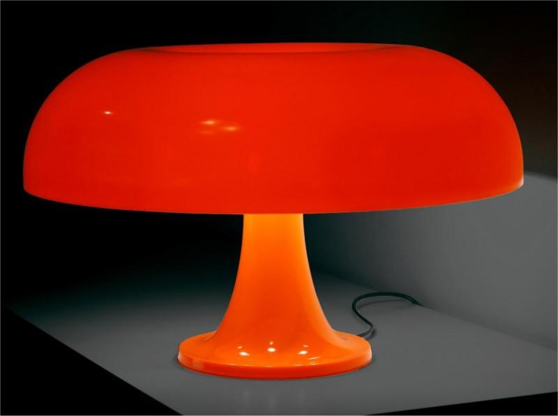 Giancarlo Mattioli, lampe Nesso, Artemide, 1964