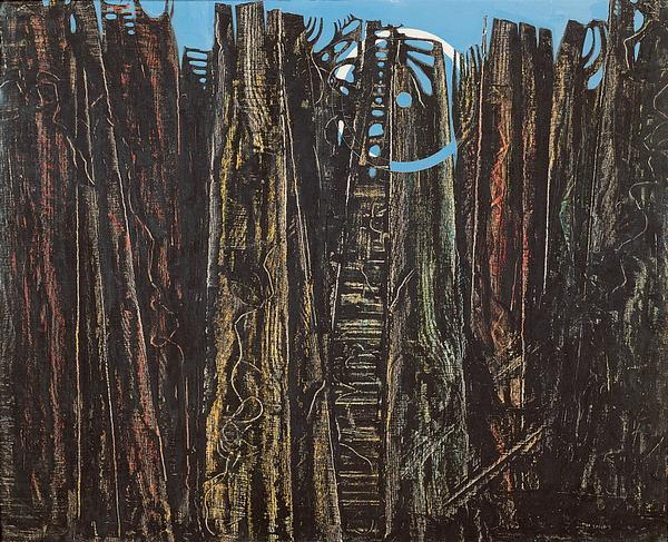 Max Ernst, La Forêt, série, 1927-1928