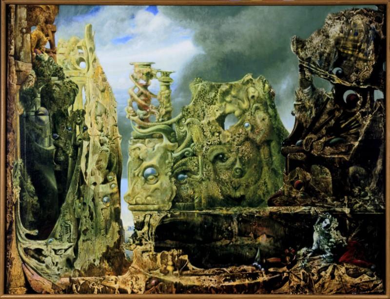 Max Ernst, L'oeil du silence, 1943-1945