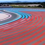 Paul Ricard circuit, ultra-adherent bands