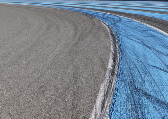 Paul Ricard Circuit, Blue Line