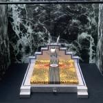 Archizoom Associati, Letto di sogno, Presagio di rose, 1967-2000 Maquette Photographie : Philippe Magnon Collection Frac Centre, Orléans