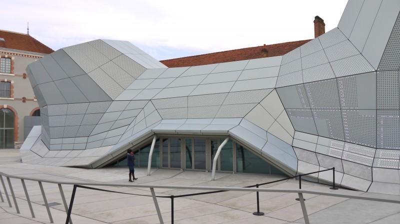 Frac Centre, Orléans, vue de l'entrée principale.