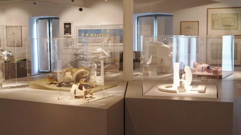 Collection du FRAC Centre, salle permanente, vue générale.