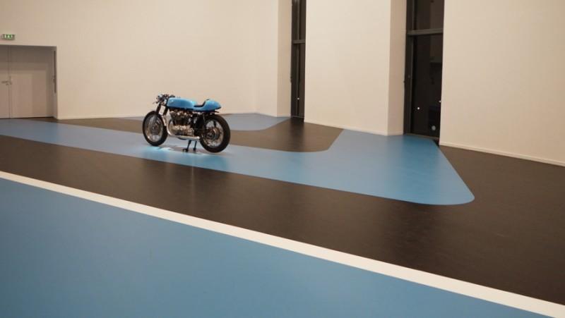 Jean-Baptiste Sauvage, Blue line #2,  2014