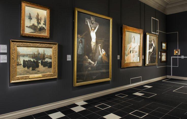 Scénographie « LE TEMPS DES COLLECTIONS », MUSEE DES BEAUX ARTS DE ROUEN, 2014. Réalisation Studio Putman