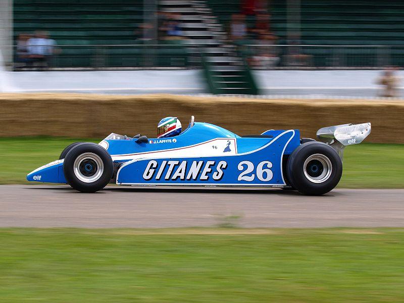 la Ligier JS11/15, 1980