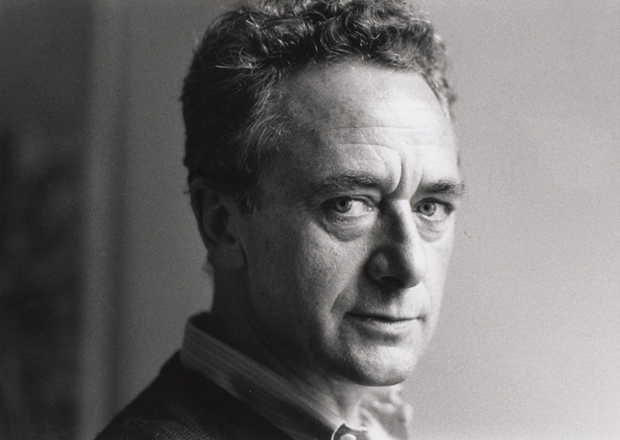 Gerhard Richter photographed by Benjamin Katz in Köln, 1984