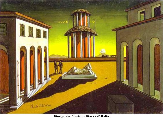 Giorgio De Chirico, Place d'Italie, 1912