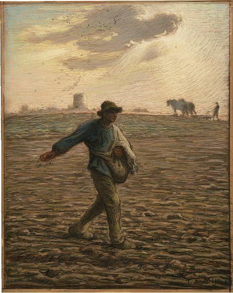 Jean-François Millet, Le Semeur, 1865-1866