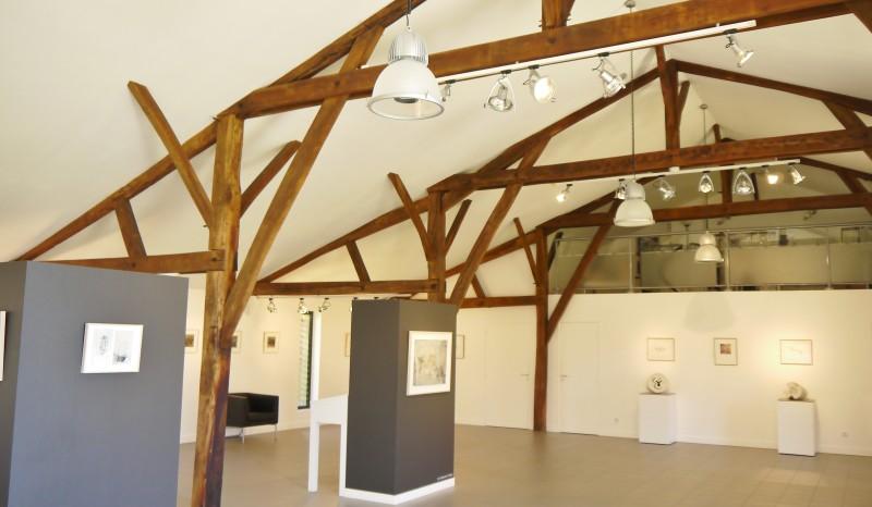 Domaine Perdu, Vue de l'intérieur de la Grande Galerie, 2014.