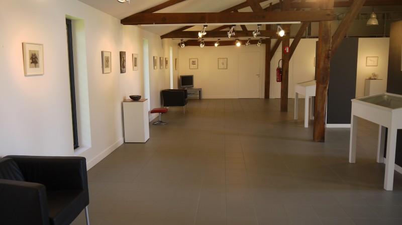 Domaine Perdu, vue de l'intérieur de la Grande Galerie, 2014. Photo François Boutard.