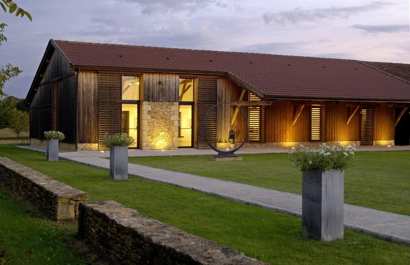 Vue extérieure du Domaine Perdu, 2012 (Photo : Bernard Dupuy)