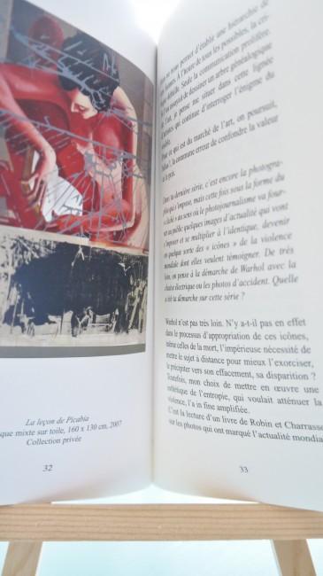Double page extraite du Vertige des Profondeurs, Entretien avec Fabrice Thomasseau, éditions Le Domaine Perdu