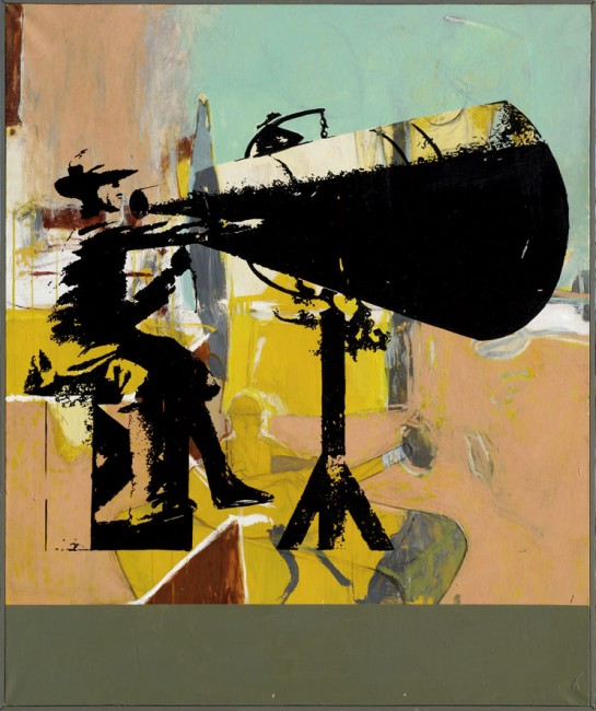 Fabrice Thomasseau, Les grandes manœuvres, 2007, 130 x 110 cm. Photo Bernard Dupuy