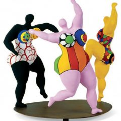 Niki de Saint Phalle : derrière «Nanas»