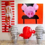 Corinne FHIMA, eve waiting for love, from eve and Pigs Series, 2006