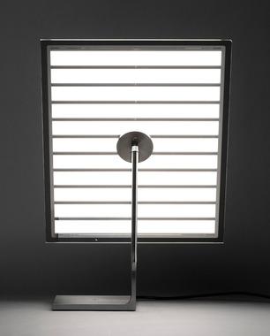 Lampe de table Light Photonpour, design Philippe Starck, éditeur Flos pour les 50 ans de la marque