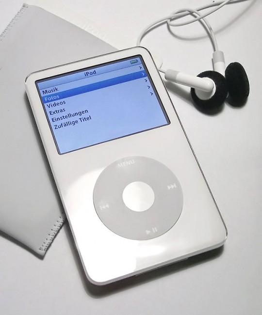 iPod, 5ième Génération par Apple