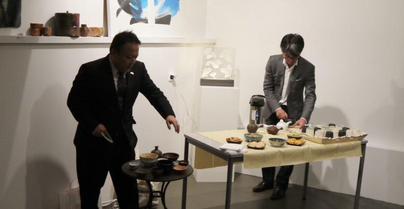 Cérémonie du Bol à thé à la Galerie Atelier 28