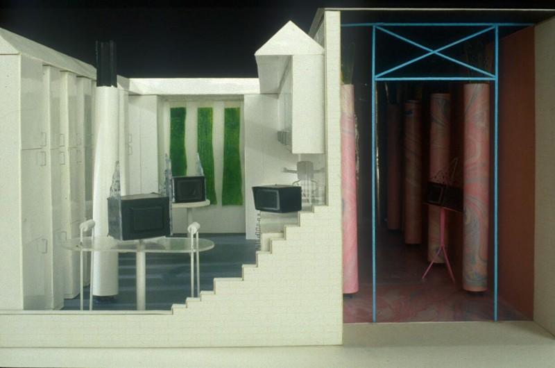 Autre projet présenté : La casa telematica d'Ugo La Pietra.