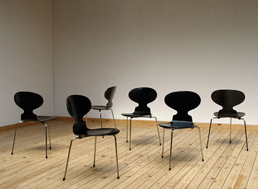 Ant chair, design Arne Jacobsen, 1952