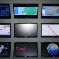 Exposition Hypervitality, 9ième Biennale Internationale du Design de Saint-Etienne, écrans de contrôle et mesures (2)