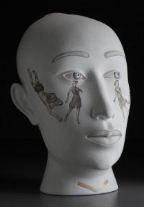 Sergei Isupov, Seeds, 2009. Stoneware, 29 x 29 X 18''. Courtesy Ferrin Contemporary