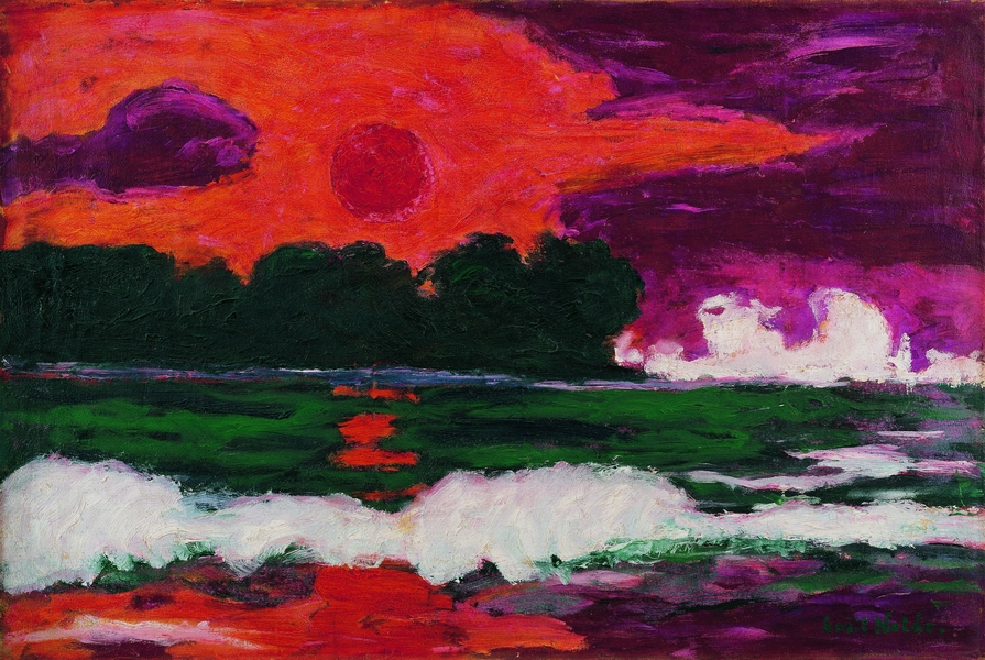 Emil Nolde, Soleil Tropical, 1914