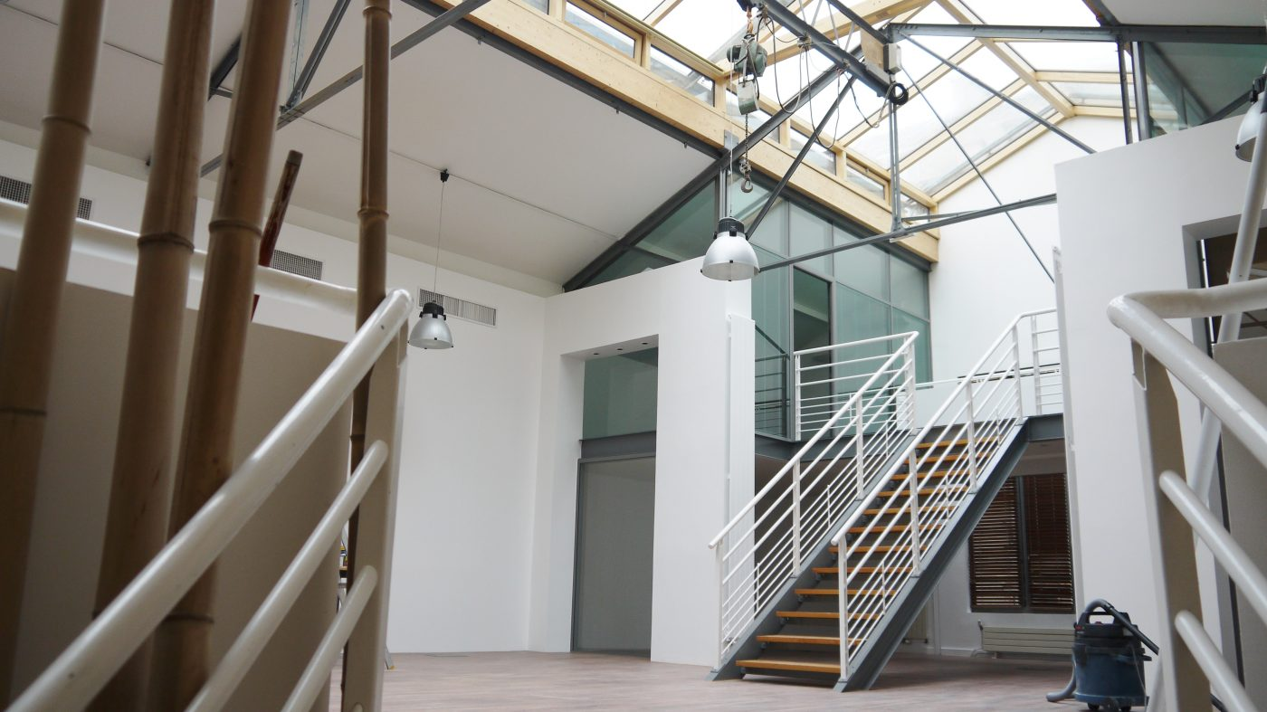 Intérieur de la Villa Deshayes qui accueillera l'exposition