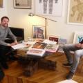 Hervé Perdriolle m'a reçu dans sa Galerie-Appartement