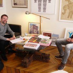 Une Interview avec Hervé PERDRIOLLE, promoteur de la Figuration Libre et expert de l'art vernaculaire indien