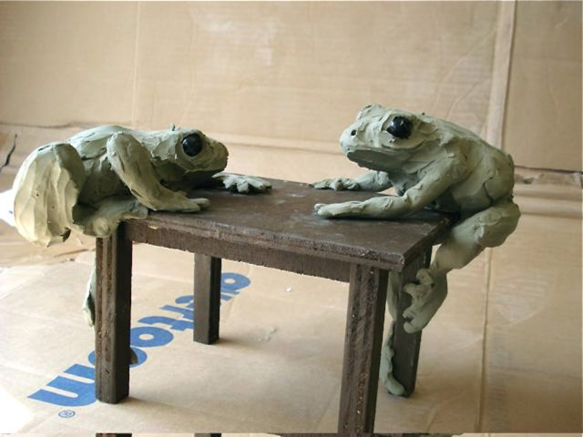 Hella Jongerius, Frog Table model